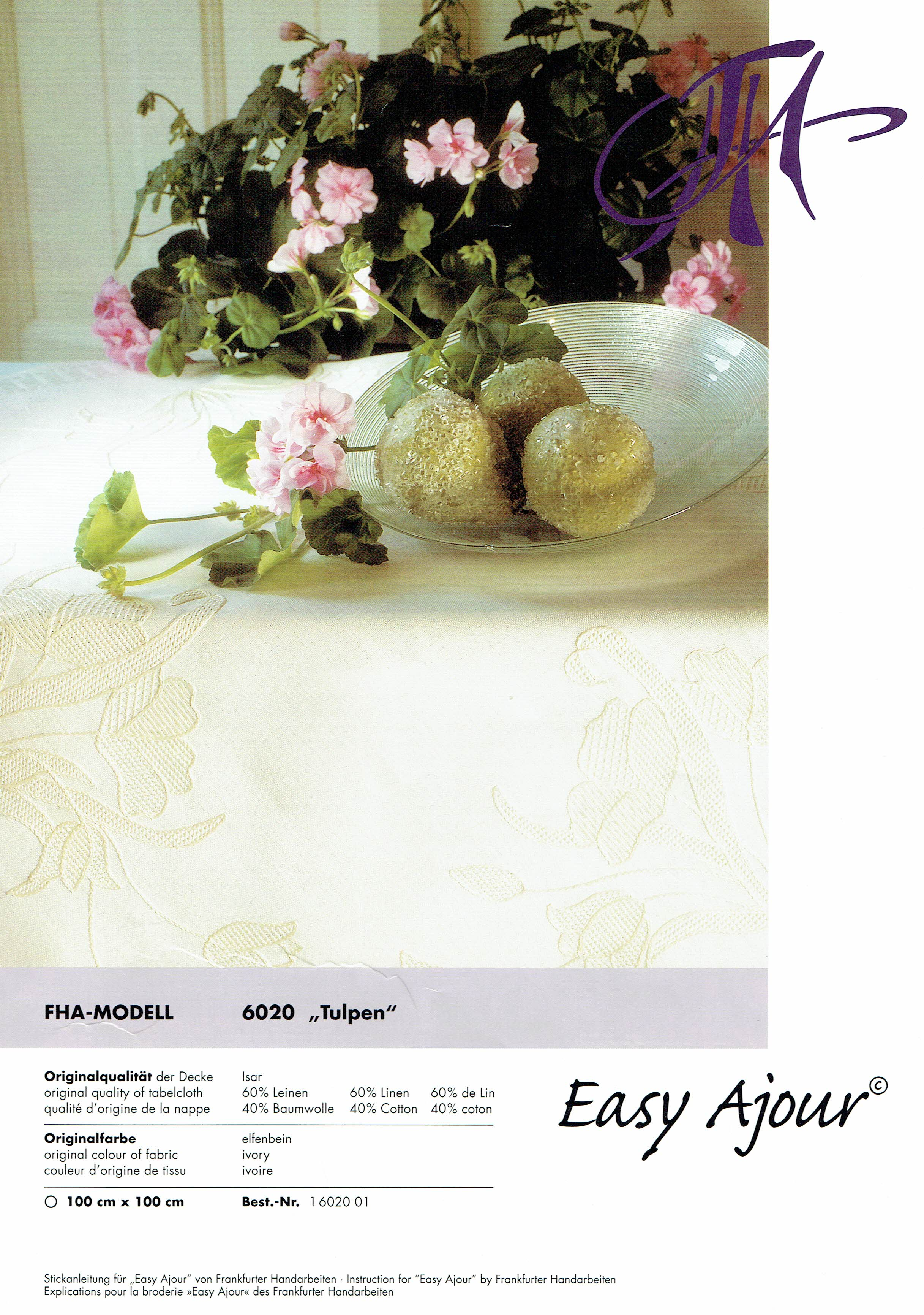 Easy Ajour - Modell 6020 - Tulpe