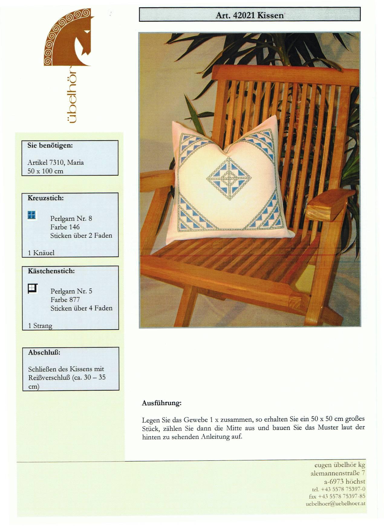 Angebot 08 - Kissen