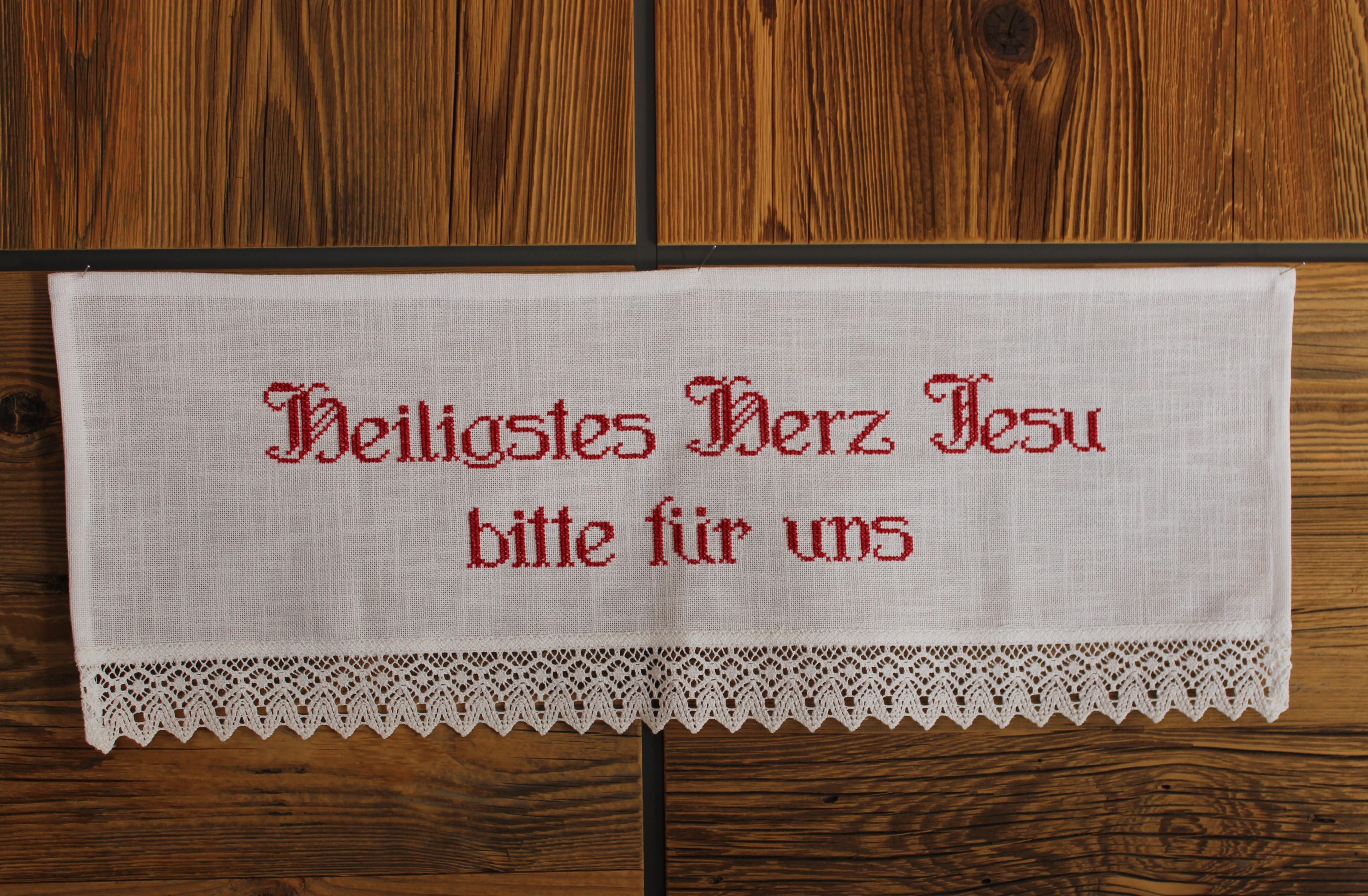 Herrgottswinkel - Heiligstes Herz Jesu bitte für uns