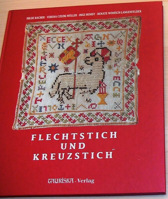 Flechtstich und Kreuzstich