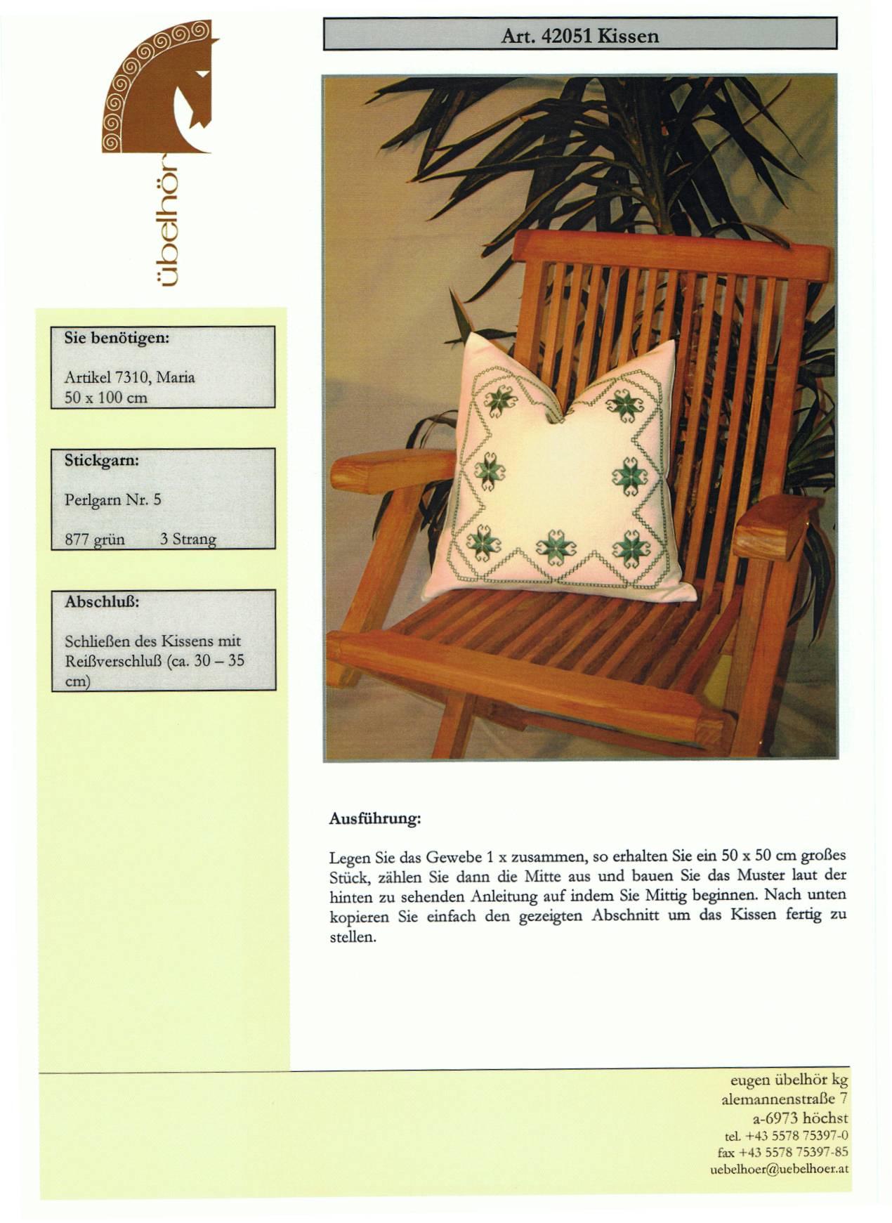 Angebot 06 - Mitteldecken mit Kissen