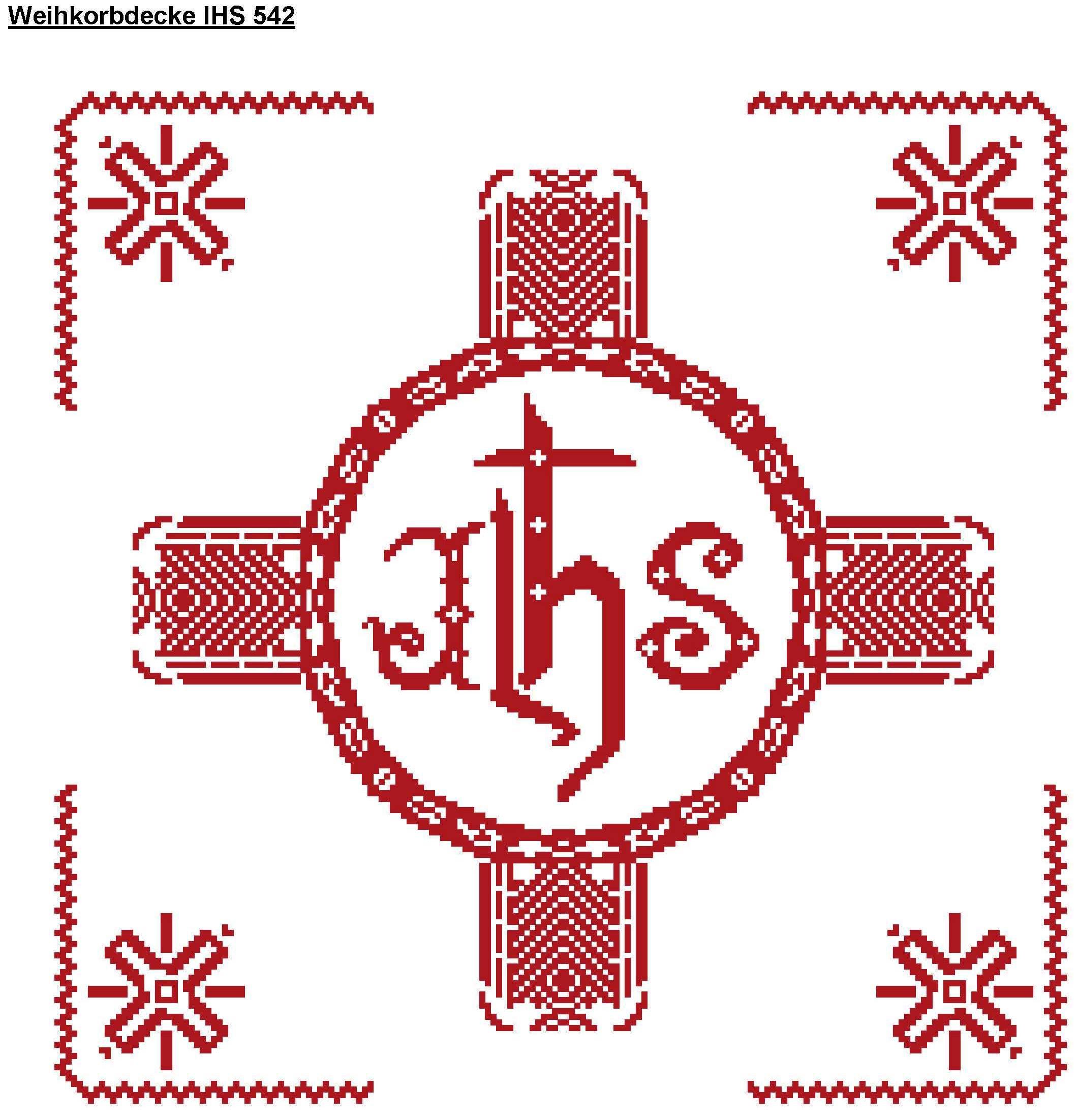 Weihkorbdecke - IHS 542