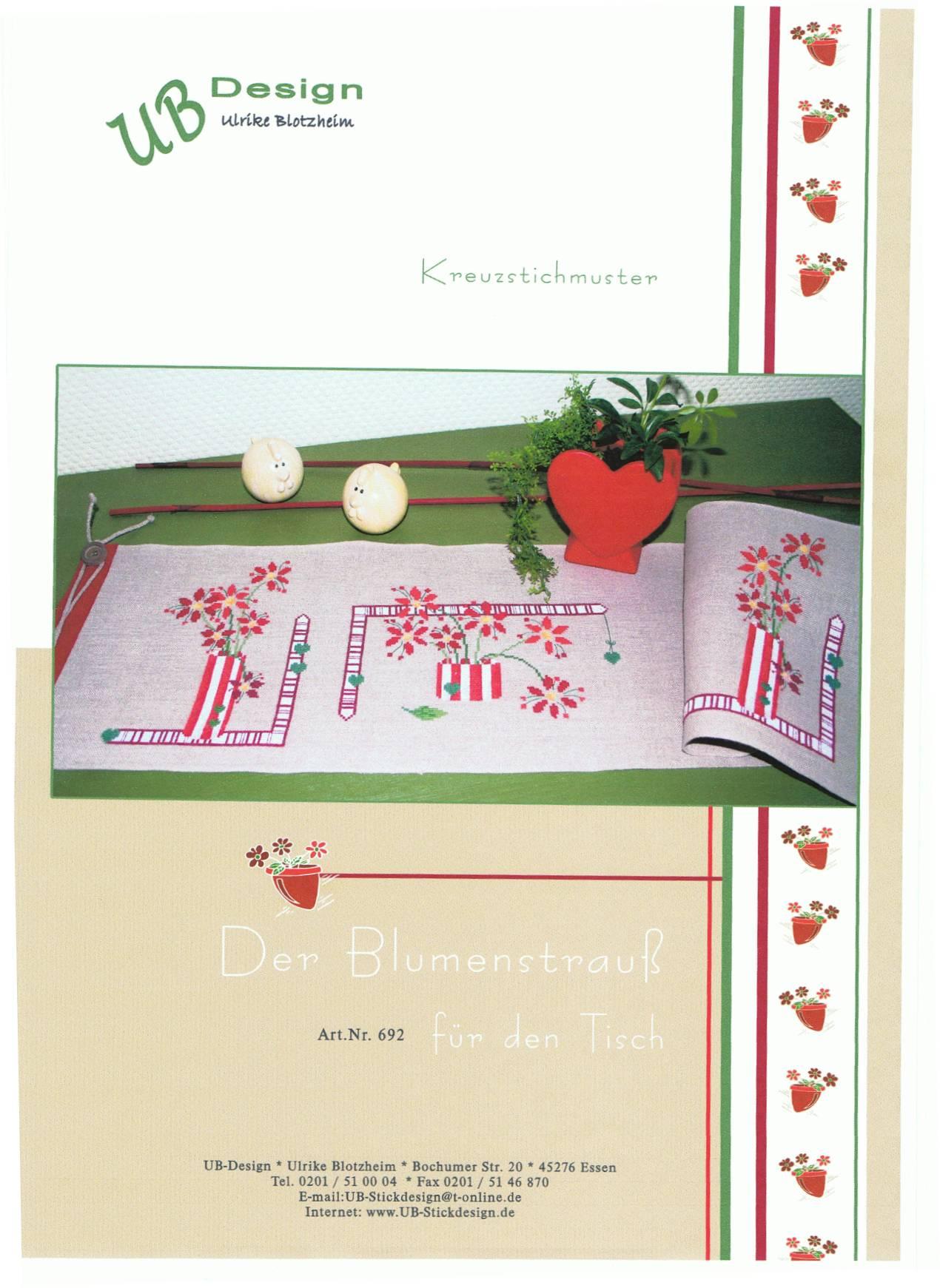 UB - Blumenstrauß für Tisch AN692