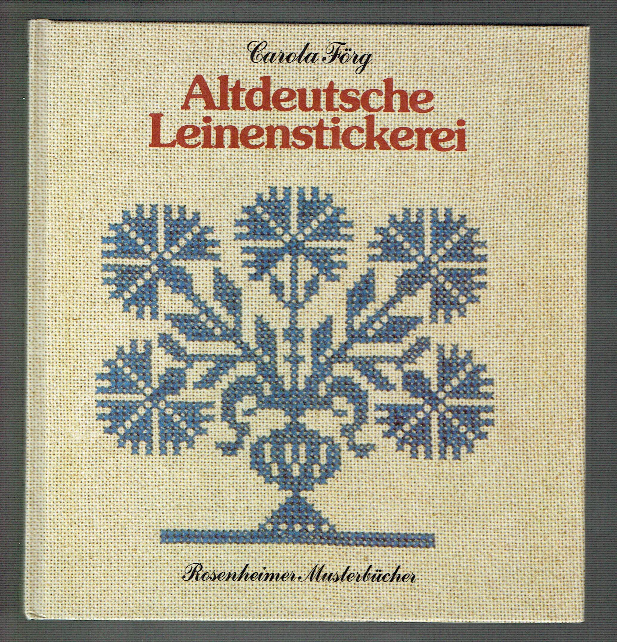 Altdeutsche Leinenstickerei
