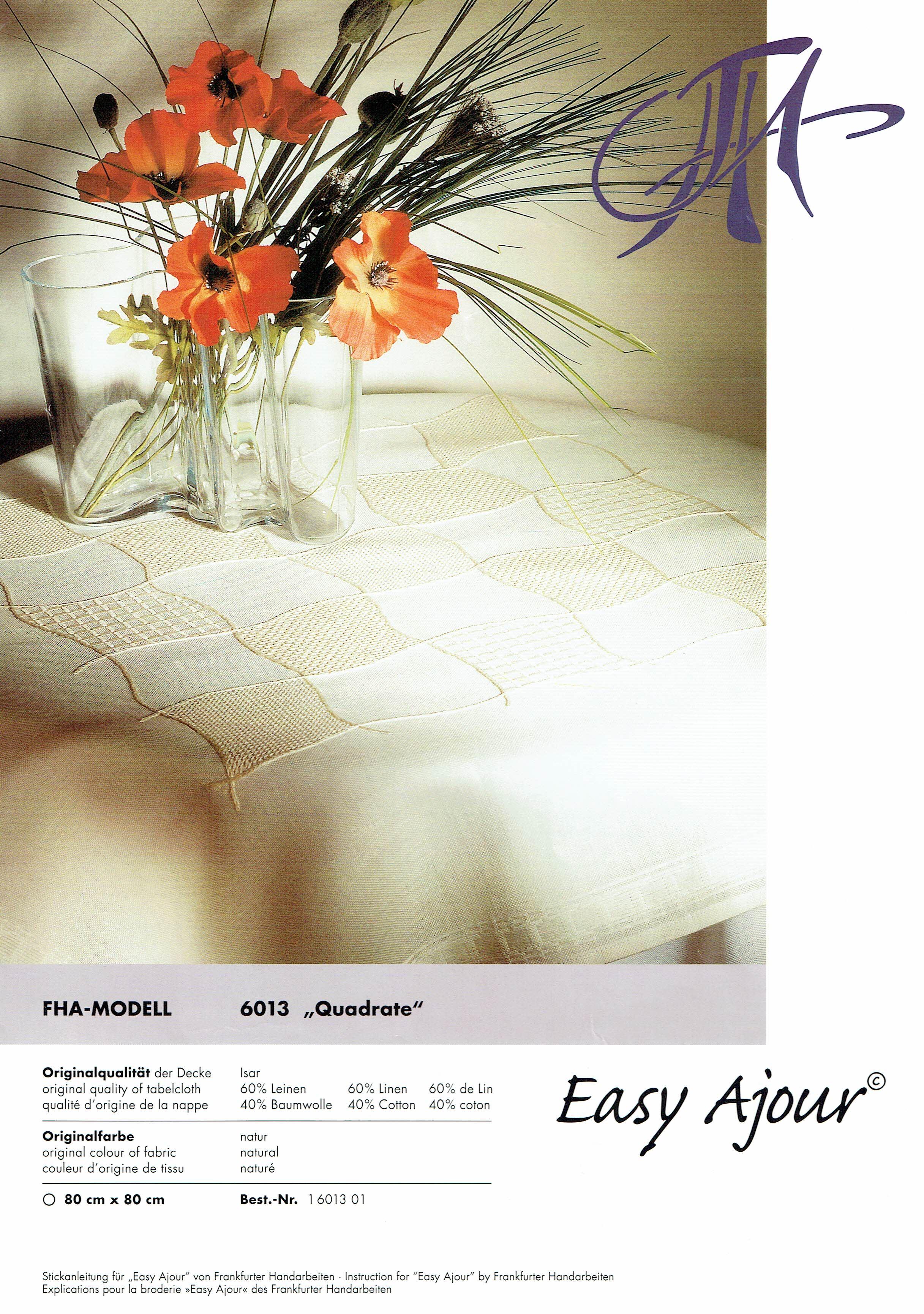 Easy Ajour - Modell 6013 - Quadrate