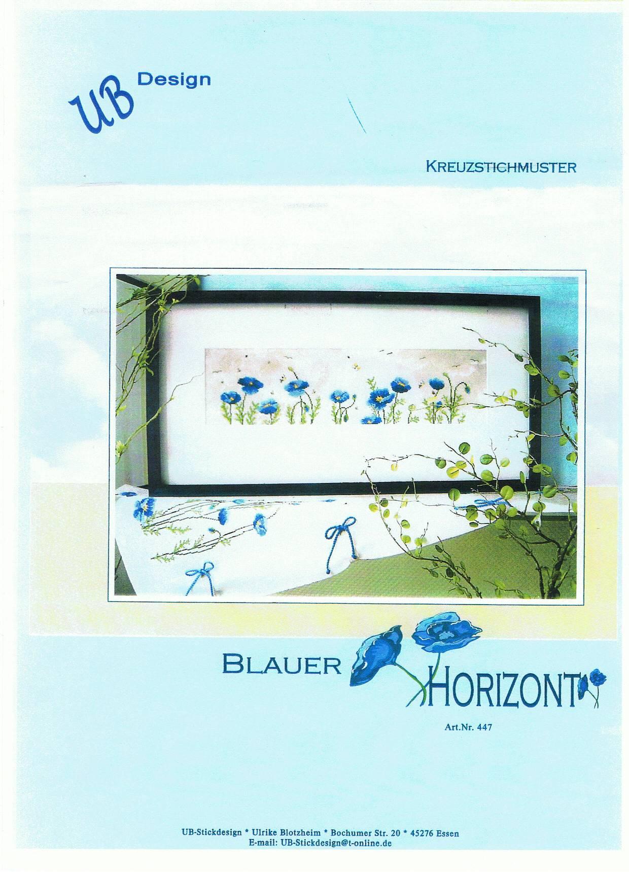 UB - Blauer Horizont AN447