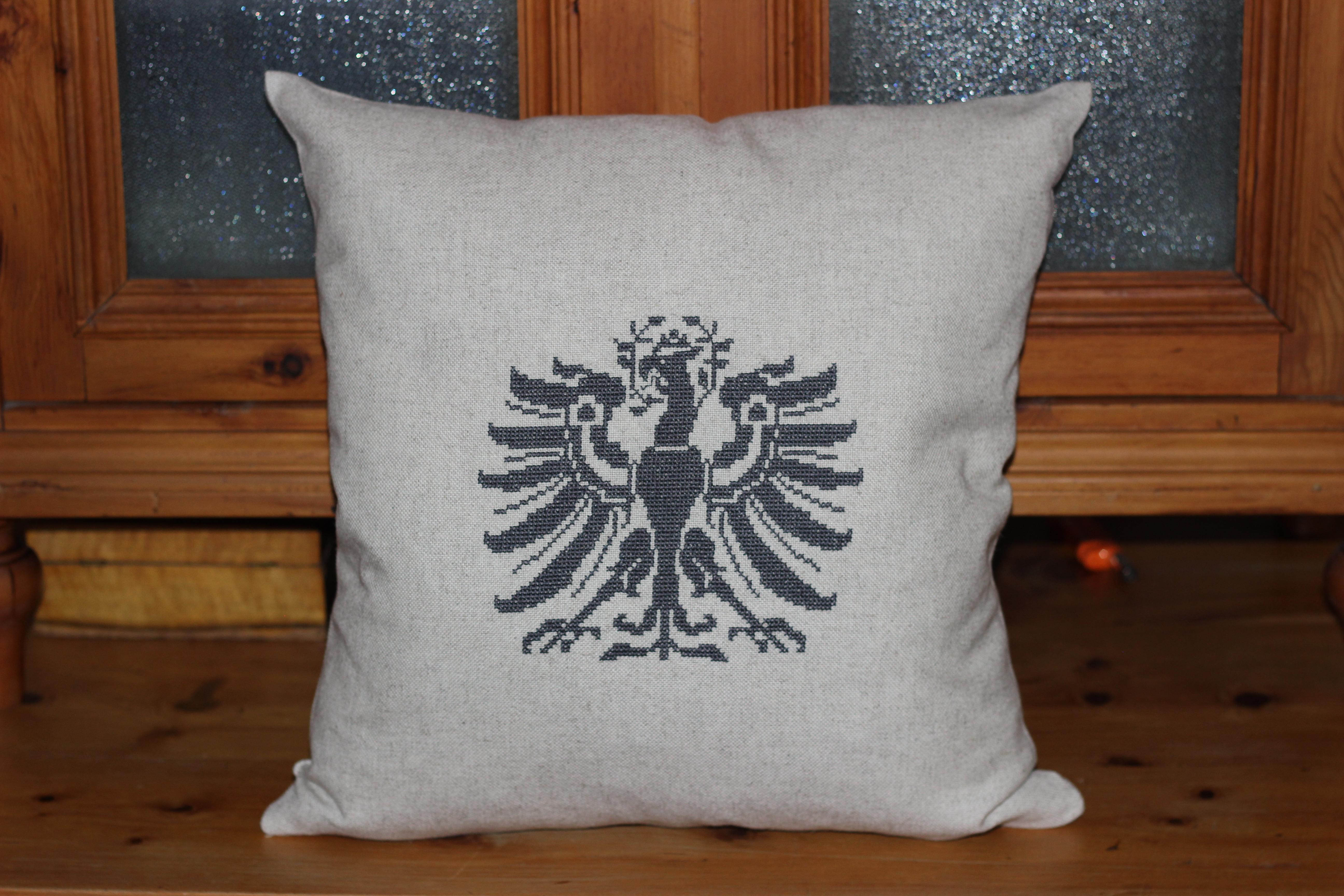 Tiroler Adler 3 auf Halbleinen