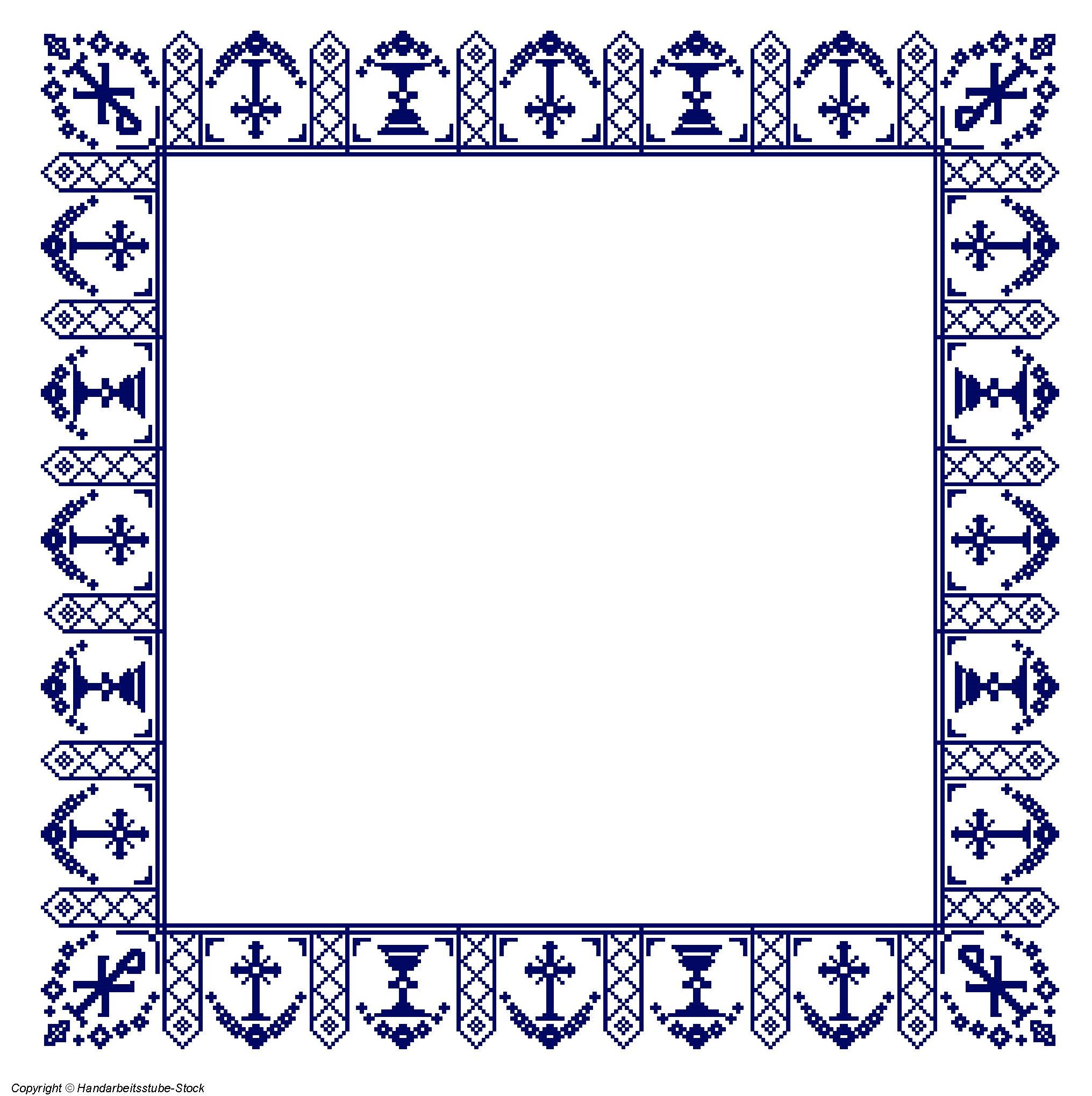 Altartuch - Bordüre 7