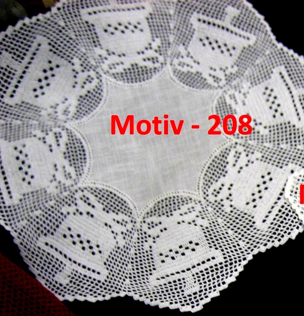 Rosette Motiv 208 - Glocke