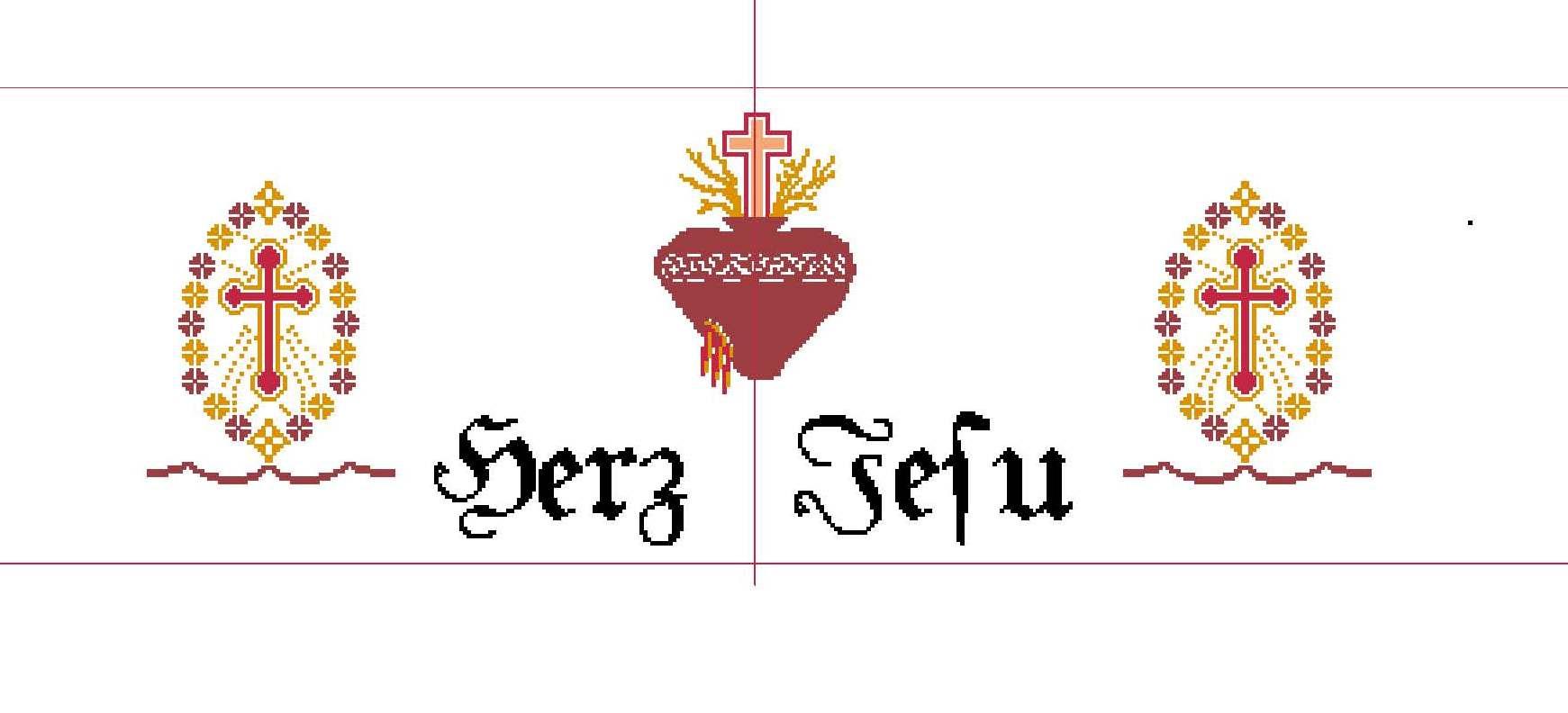 Altartuch - Herz Jesu