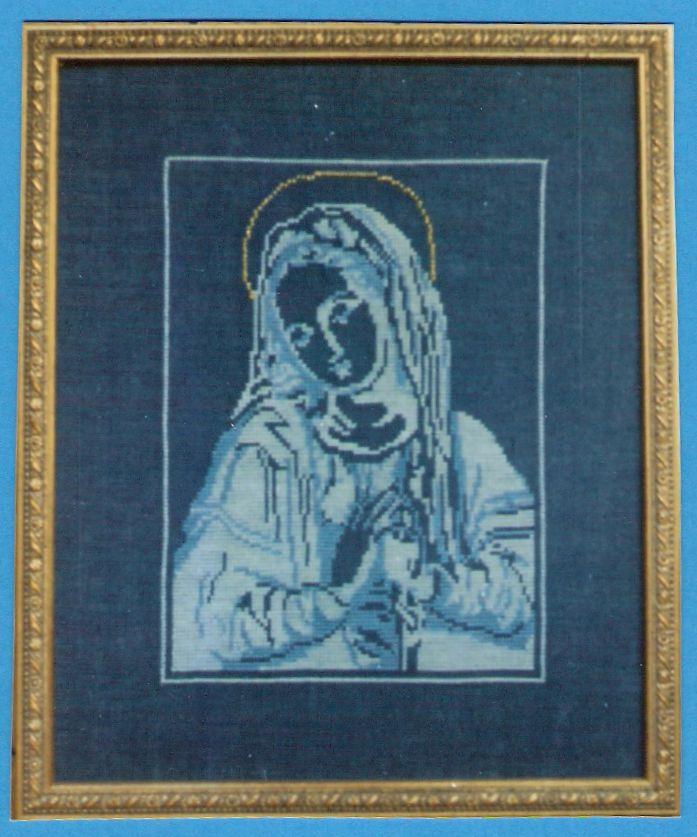 Maria betet