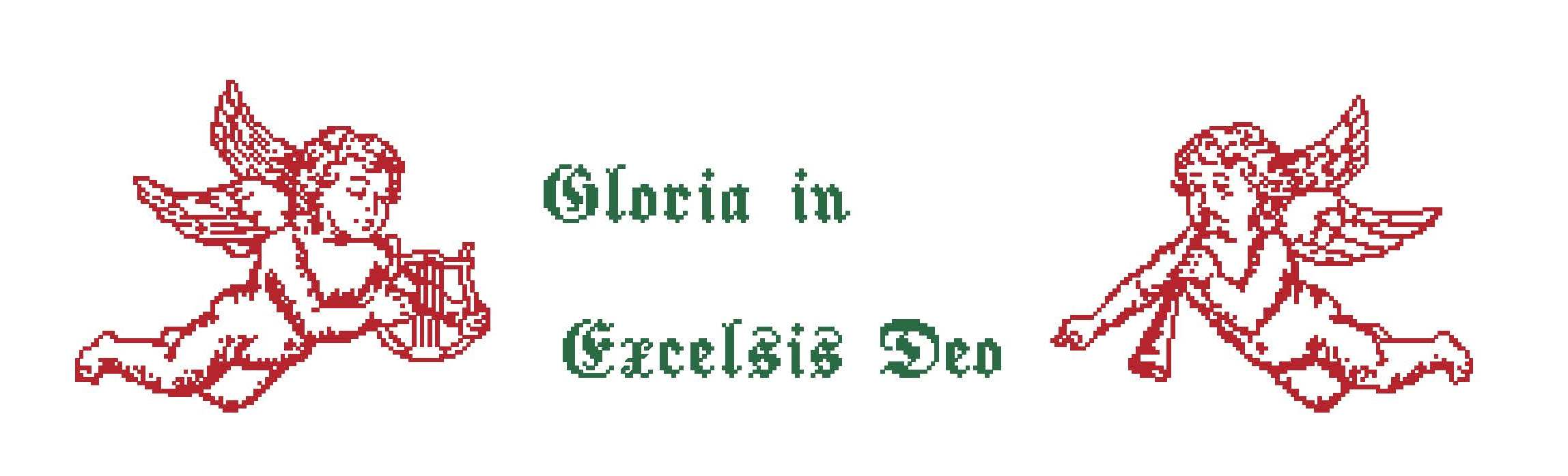 Gloria - mit Harfenegel