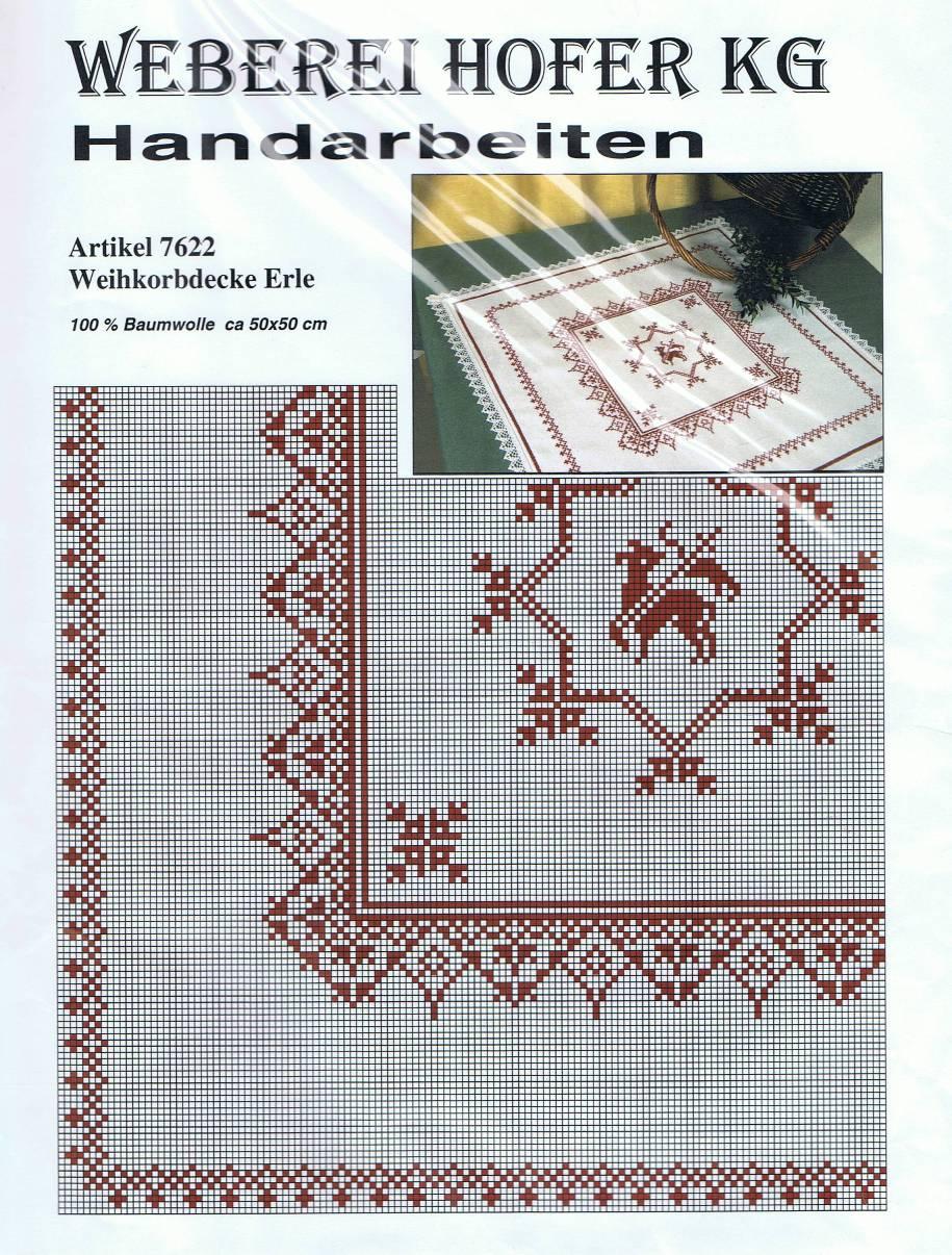 Weihkorbdecke - 7622 Erle