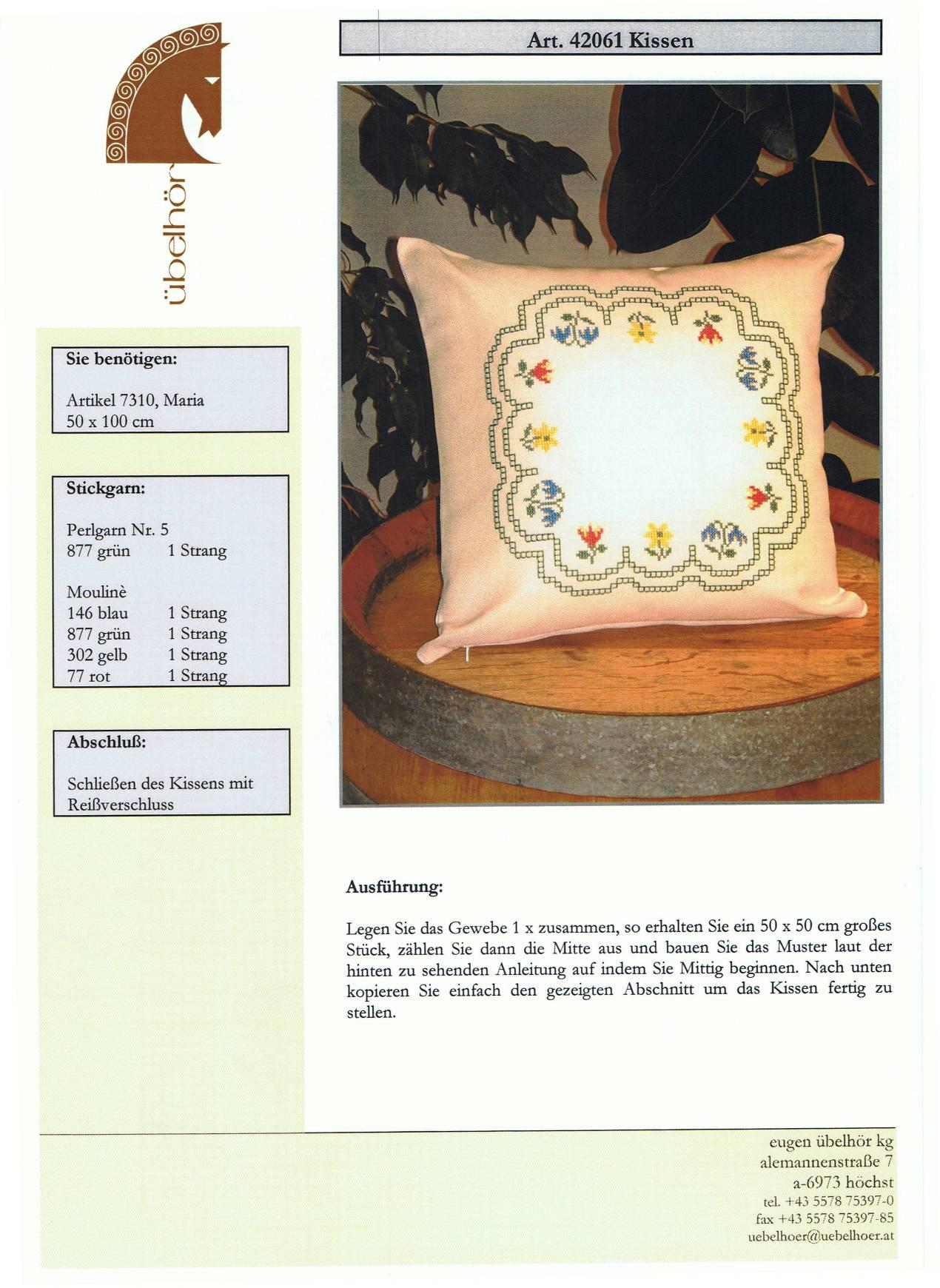 Angebot 07 - Kissen